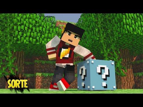 Minecraft: PROVA DIA #5 - Me Ajude Lucky Block! ‹ AM3NIC ›