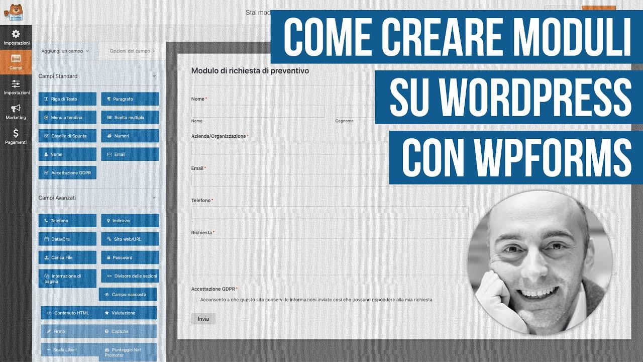 Recensione WPForms: plugin per creare moduli su WordPress
