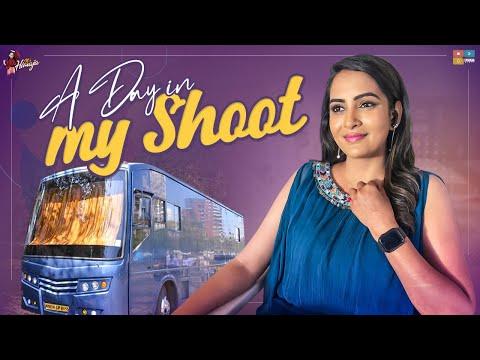 A Day In my Shoot    Varudukavalenu movie    Nagasourya    Ritu Varma    Its Himaja