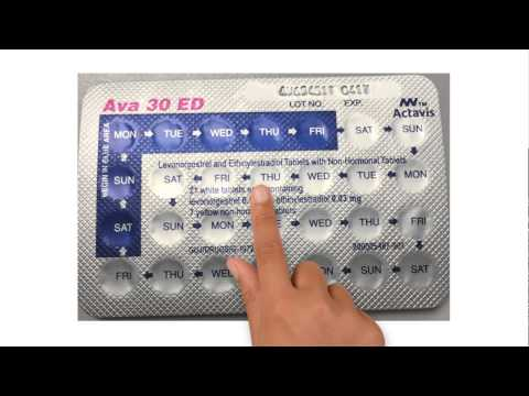 Learn How To Continuously Use The Ava Contraceptive Pill