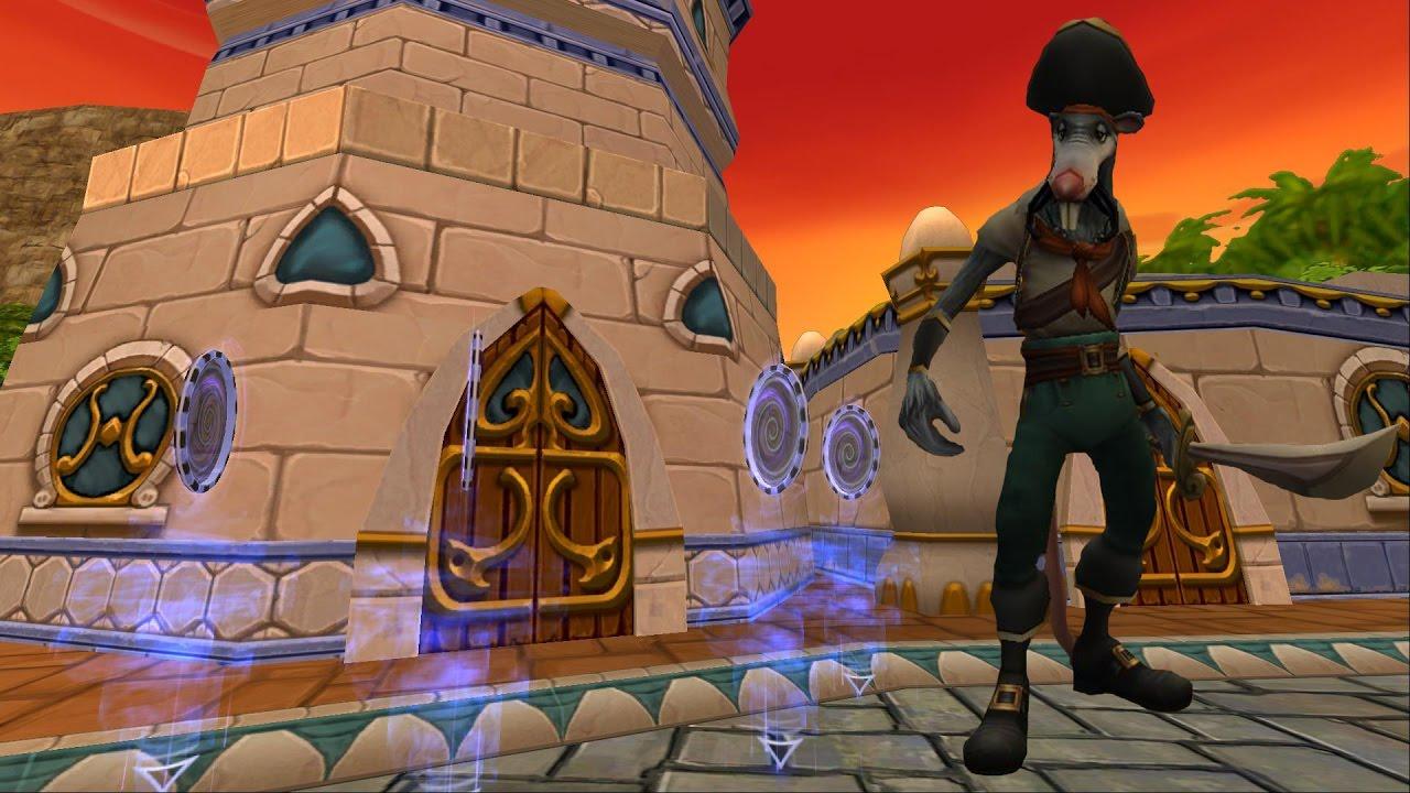 Repeat Wizard101: NEW Stone Skeleton Key Boss  