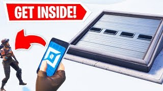 I HACKED the SECRET ICE BUNKER and FOUND... (Fortnite Battle Royale)