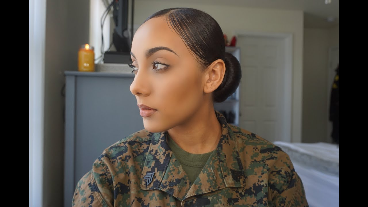 Military Soft Makeup - YouTube