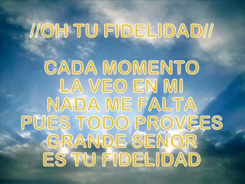 FIDELIDAD, GRANDE ES TU FIDELIDAD - CHRISTINE D`CLARIO FT. DANIEL CALVETI ()