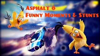 asphalt 8 funny moments and stunts - Chevrolet Corvette Grand Sports