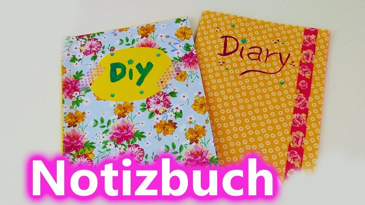 diy notizbuch tagebuch adressbuch selber machen und gestalten youtube. Black Bedroom Furniture Sets. Home Design Ideas