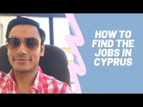 How To Find The Jobs In Cyprus For Internationals All The Information Indians Pak Nepal