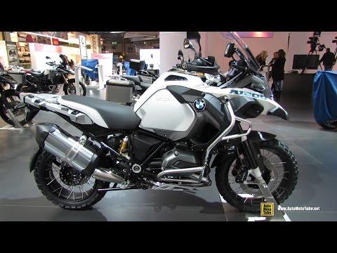 2015 BMW R1200 GS Adventure - Walkaround - 2014 EICMA Milan Motorcycle Exhibition