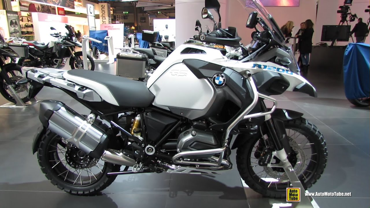2015 bmw r1200 gs adventure - walkaround - 2014 eicma milan