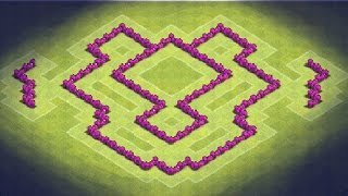 Clash of Clans - TH6 Farming Base (TheDragon) Anti Giants, Healer, Baloons, Dragons
