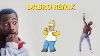 Dabro remix - Quest Pistols Show - Непохожие + Симпсоны