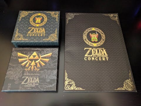 The Legend of Zelda: 30th Anniversary Music CD Collection and Program Book | James Clark