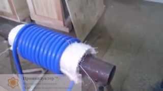 Индукционный нагреватель для термообработки сварных швов