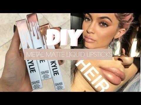 Makeup Collection - DIY KYLIE JENNER LIP KIT | Metallic Liquid Lipstick