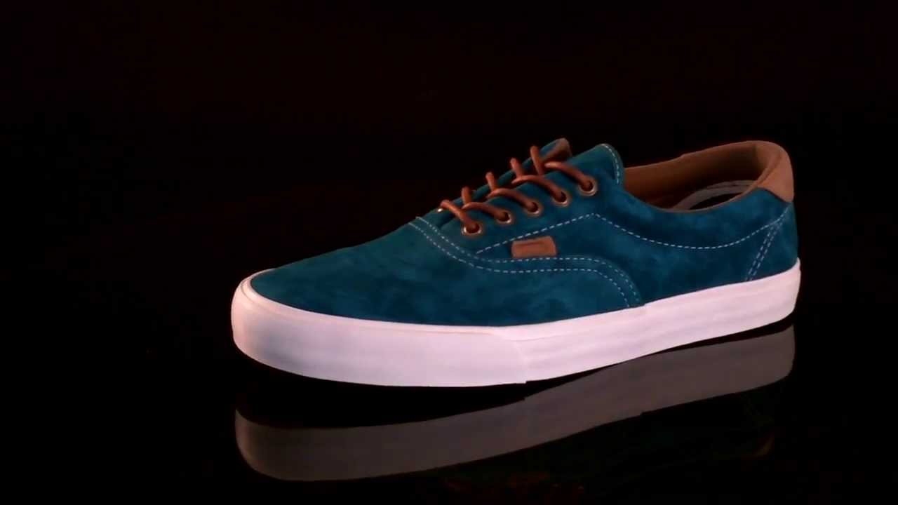 6b23646aa18c Vans U ERA 59 California Sneaker Suede Harbour Blue VLYJBV5 - YouTube