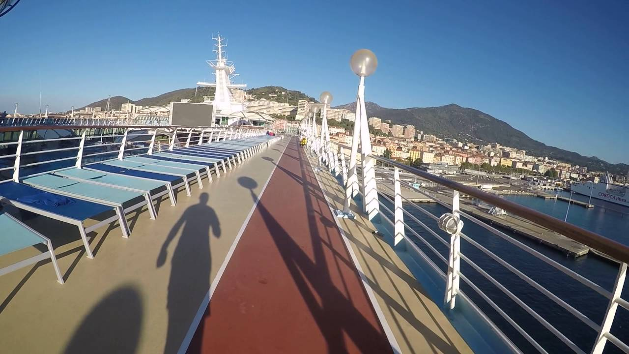 TUI Discovery Cruise Ship Running Track GoPro K YouTube - Track a cruise ship