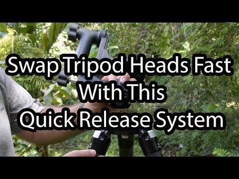 Swap Tripod Heads The Fast Way!