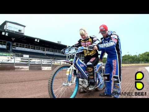 Charlie Webster learns Speedway