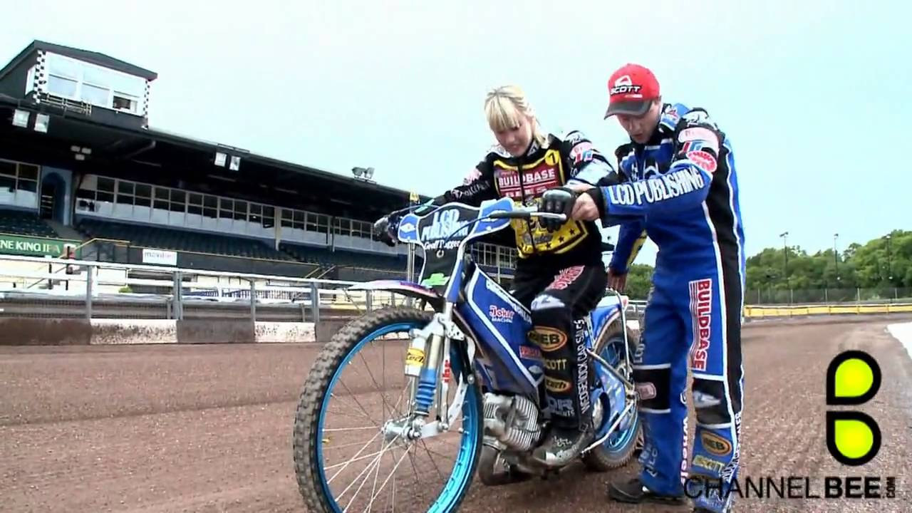 how to ride a speedway bike
