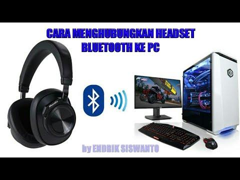 Cara Menghubungkan Headset Bluetooth ke PC atau Laptop