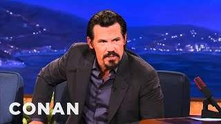 "Josh Brolin On The ""Men In Black 3"" Publicity Blitz - CONAN on TBS"
