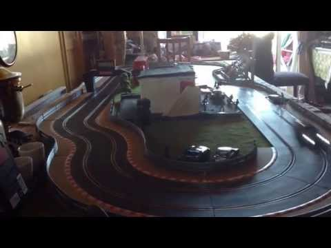 Circuit routier :Subaru impreza sur piste scalextric sport
