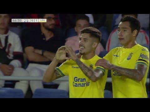Gol de Cristian Cedrés en el CD Tenerife 2 - UD Las Palmas 1 | Liga 123 TV