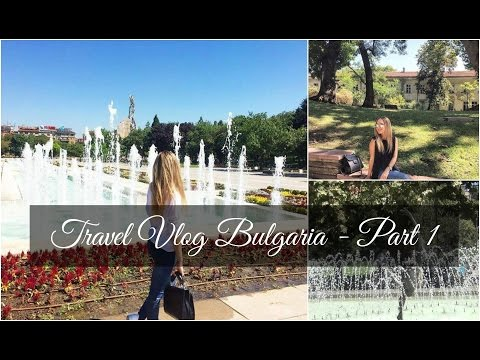 Bulgaria Travel Vlog - Sofia (Part 1) | Eva Roussou