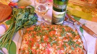 Рецепты. Сом с рисом и овощами.