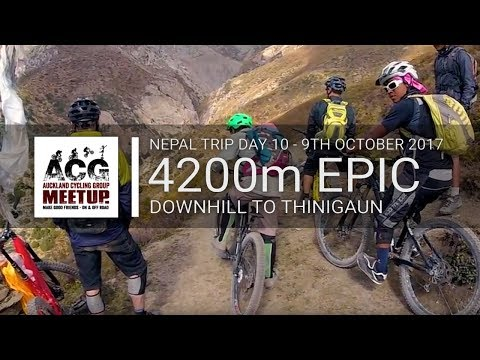 Nepal - Day 10 Mon 9th Oct 2017 - 4200m Epic Downhill to Thinigaun