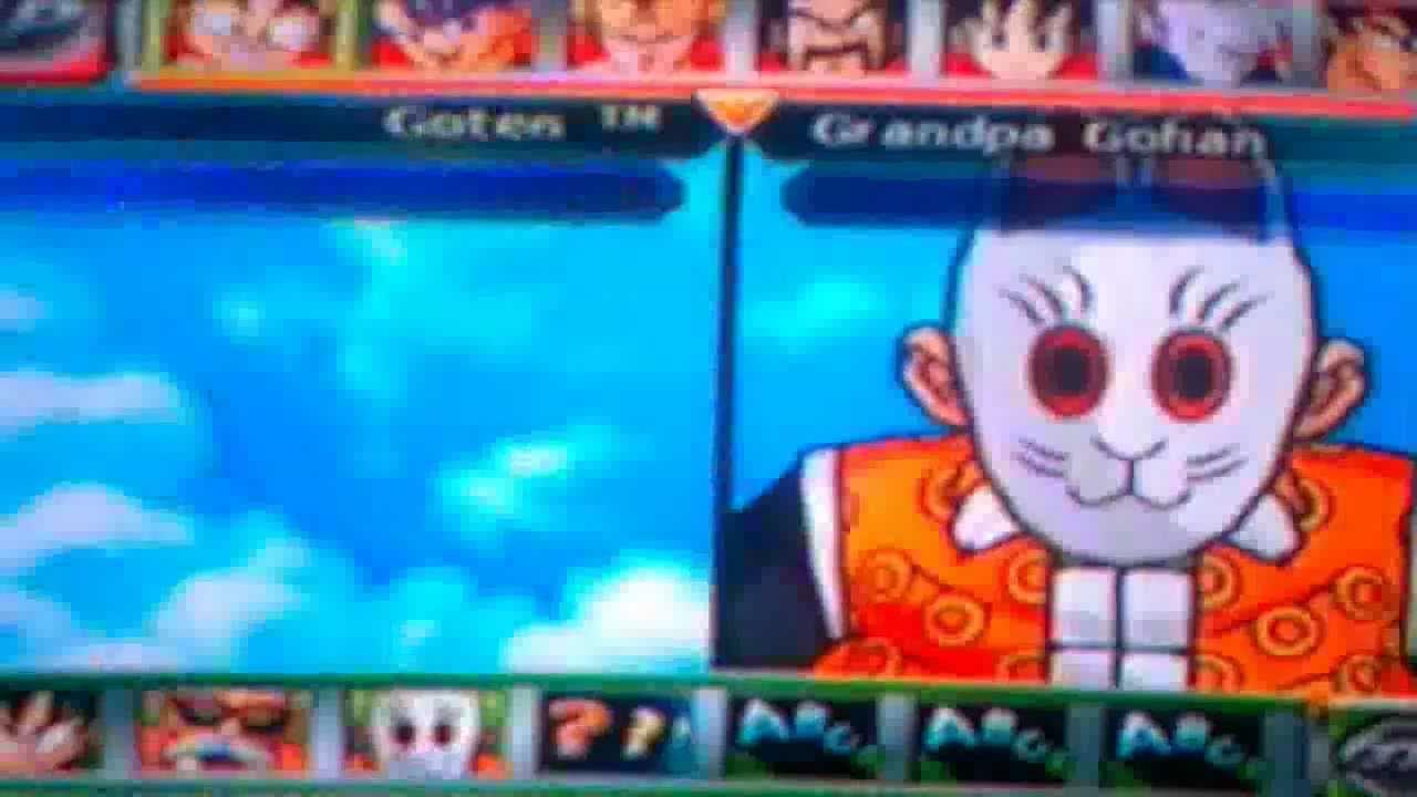 Dragon Ball Z Budokai Tenkaichi 2 - Todos Los Personajes