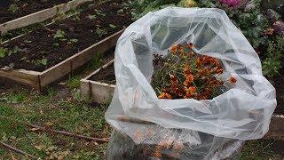 Компост в мешках и не только  Пакеты   вкладыши применение в саду