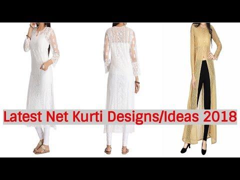 Latest Net Kurti Designs || Net Kurti Design Ideas || Net Kurti Images