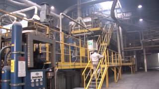 Film pokazujący fabrykę Kronopol - produkcję płyt i blatów kuchennych