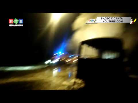 Пострадал водитель сгоревшего автобуса