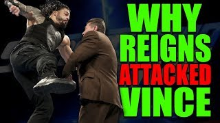 Real Reason Why Roman Reigns Moved to Smackdown Live and ATTACKED Vince McMahon (16 April 2019)