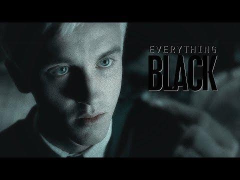 draco malfoy | everything black
