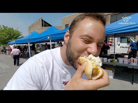 Virginia Tech Police Hot Dog Luncheon
