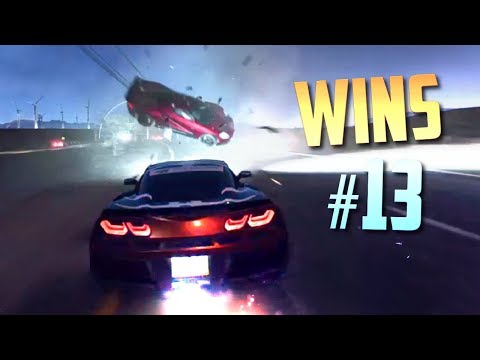 Racing Games WINS Compilation #13 (Close Calls, Drifts, Near Misses & Epic Moments)