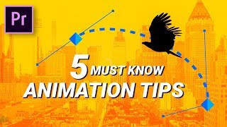 5 basic ANIMATION TIPS you SHOULD KNOW about!
