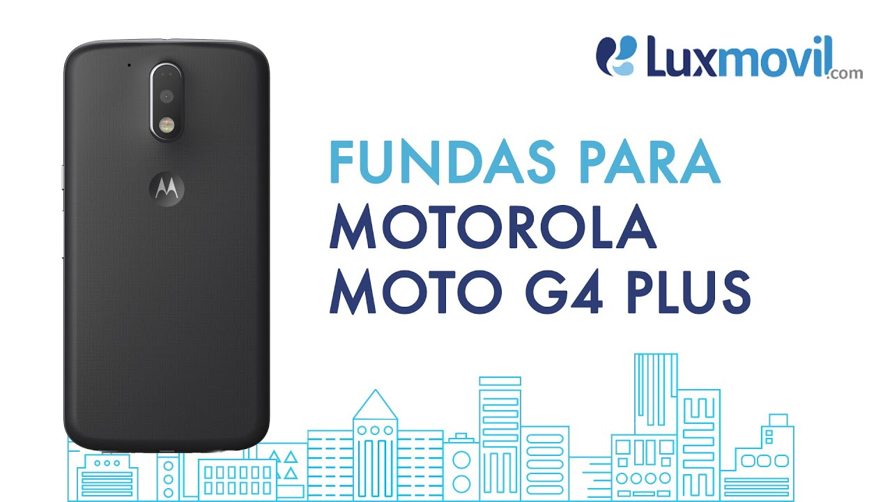 546f829d1d3 Fundas Motorola Moto G4 Plus - Luxmovil.com - YouTube