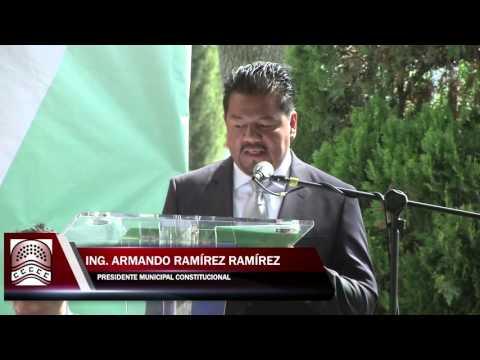 TOMA DE PROTESTA JALTENCO ING. ARMANDO RAMIREZ