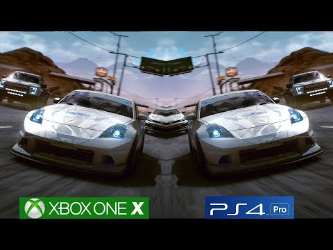 Need For Speed Payback - Xbox One X vs PS4 Pro Graphics Comparison [4K/60fps]