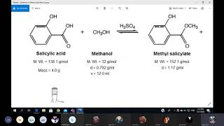 Experiment 5: Synthesis of Methyl Salicylate - Section 6