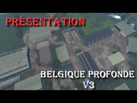 fs 15 pr sentation de la maps belgique profonde v3 by frabel ls modding youtube. Black Bedroom Furniture Sets. Home Design Ideas