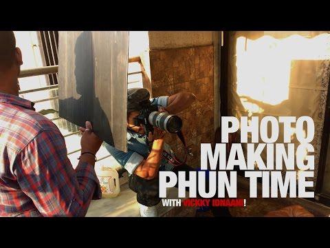 Photo-Making-Phun-Time with Viccky Idnaani