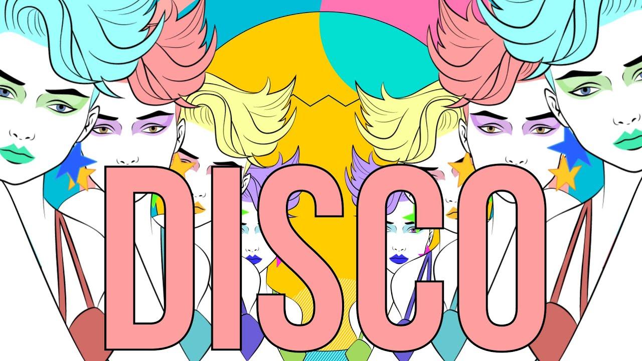 80s Girl Disco (free vj loop)