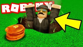 LURKING THE MYSTERIOUS MAN IN MY TRAP IN ROBLOX BLOXBURG