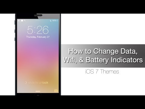 How to Change your Battery, Wi-Fi, and Data indicators on iOS 7 - iPhone Hacks