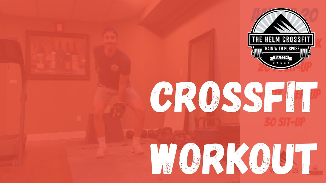 CrossFit Workout | Clean | Push-up | Step-up | Sit-up